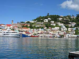 St. George's, the capital of Grenada