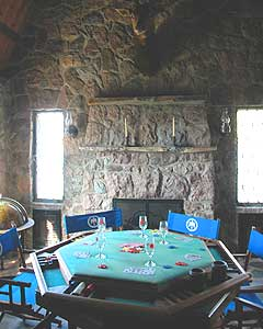 The Thunderbird game room was a favorite haunt of the Rat Pack