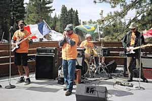 The Drunken Neighbors perform at Diamond Peak. Photos by Jaclyn C. Stevenson