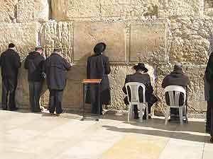 The Western Wall in Jerusalem - photos by Jon Brandt