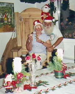 Just 30 minutes drive to the north of Karlstad you can visit Santa Claus