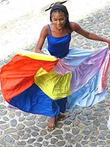 Whirl girl, Panama