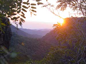 Sunset on the Chapada Plateau