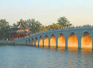the beautiful Summer Palace