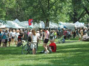 The Powderhorn Art Fair - photo by Nick Lethert