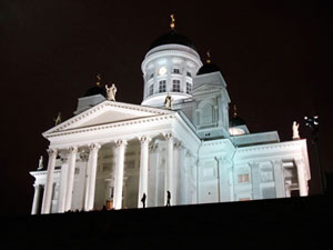 Evangelical Lutheran cathedral and seat of the Diocese of Helsinki - built as a tribute to the Grand Duke Nicholas I, the Tsar of Russia from 1830-1852.