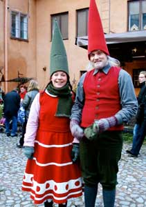 Christmas Elves in Turku, Finland - photos by Sony Stark