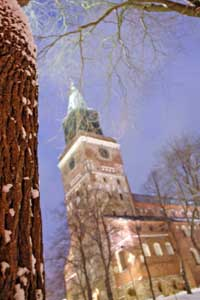 Turku Cathedral, the country's national shrine