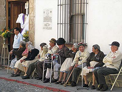 Senior citizens in Antigua