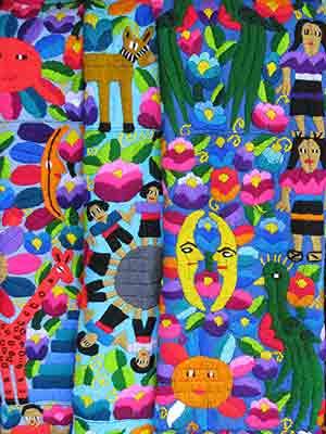 Guatemalan fabric