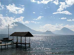 Lake Atitlan, seen from Palopo - photos by David Rich