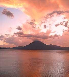 Sunset in Panajachel