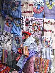 A merchant in Santiago
