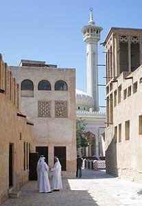 A courtyard in Dubai