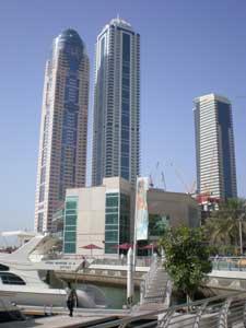 Skyscrapers and cranes - a common Dubai sight