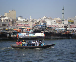 Dubai Creek - photos by Lucy Corne