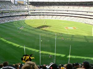 The Melbourne Cricket Grounds