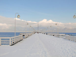 The Sopot Pier – a 511.5 meter long historical wooden deck regularly shattered by storm waves