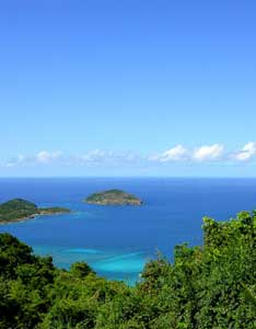 Hull Bay in St. Thomas , U.S. Virgin Islands - photos by C. Kennerly
