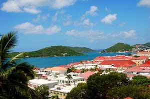 Charlotte Amalie, St. Thomas - iStockphoto Polette2