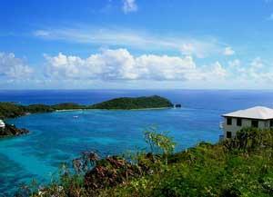 St. John offers many scenic vistas.