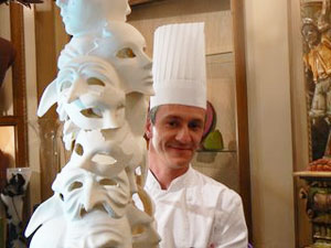 Charles Chavanette, a chocolatier in France