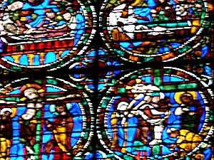 A window in Chartres Cathedral