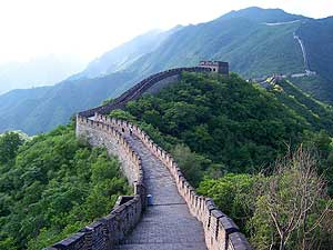 The majesty of the Great Wall