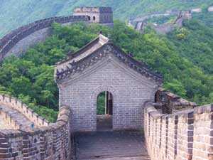 a guard house on the Great Wall