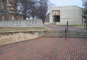 The Greenville County Museum of Art is filled with contemporary art including works by artist Andrew Wyeth.