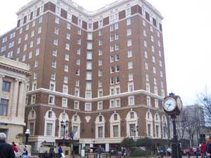 The Westin Poinsett Hotel is a Greenville landmark that is steeped in history.