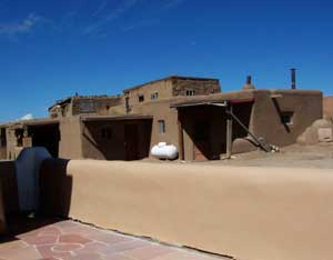 Pueblo Architecture - photos by J. Lang Wood