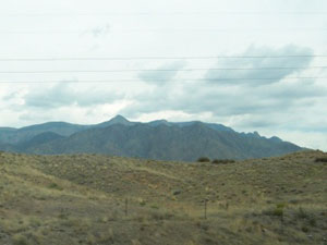 New Mexico mountain view