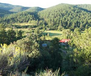 The peaceful Taos Valley