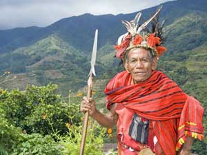 A chief of the Ifuago