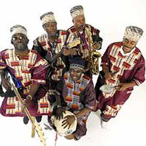 A band from the Congo called Kasai Masai