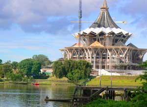 The Sarawak Parliament Building