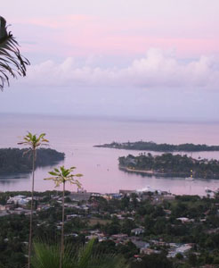 Port Antonio at sunset