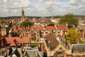 Oxford, England: Walking With a Vengeance