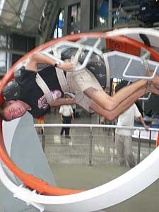 Astronaut training at the Science Museum