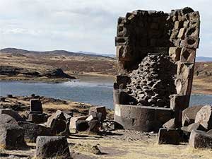 A tower in Sillustani