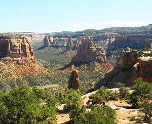 Colorado National Monument boasts some of the most breathtaking rock formations in the world.