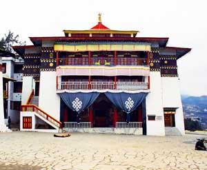 A monastery in Tawang
