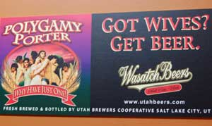 Squatters Beer Poster - Polygamy Porter