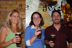 Green Drinks - a group of folks who get together every month to