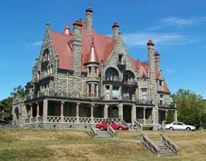 Craigdarroch Castle, the 1890 mansion of a coal baron