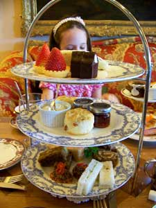 Teatime at the Fairmont Empress Hotel