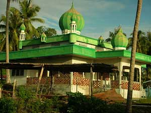 The village mosque