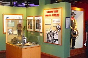 An exhibit at the Western Folklife Center