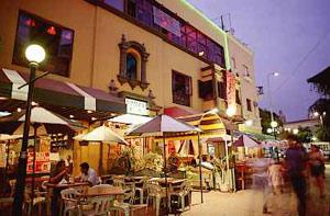 Calle de las Pizza, Lima Peru.